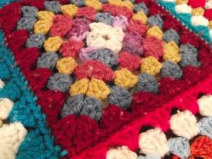 My grandmother's blanket.